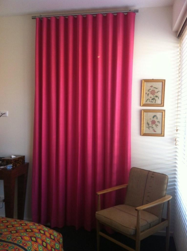 Ripplefold Curtain Rose To Sew