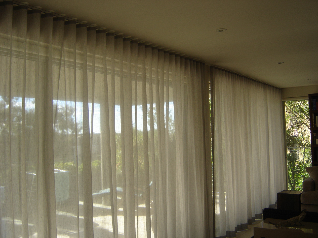 Ripplefold Sheer Curtains Rose To Sew